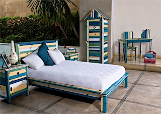 Arlequin bedroom set