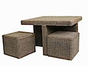 80864STN - SANTANA RATTAN SET OF 1 Table 2 Seaters