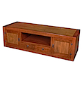 56769CI - LOW TV BUFFET 2 Drawers 2 Doors 1 Niche