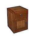 56770CI - BEDSIDE CABINET 1 Drawer 1 Door