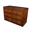 56772CI - COMMODE 6 Drawers