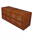 56773CI - LOW COMMODE 4 Drawers