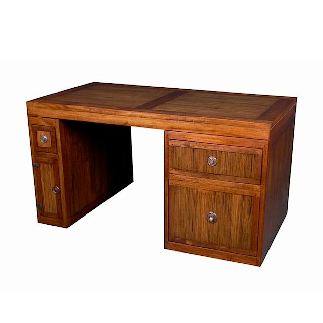 Desk 3 Drawers 1 Door Deauville Home Office Furniture Uae Dubai Rak