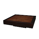 56784 - LOW COFFEE TABLE 100x100