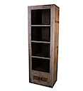 56785NV - BOOKSHELF 2 Doors