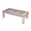 56797NV - COFFEE TABLE 130x70 (Middle Tray Open)