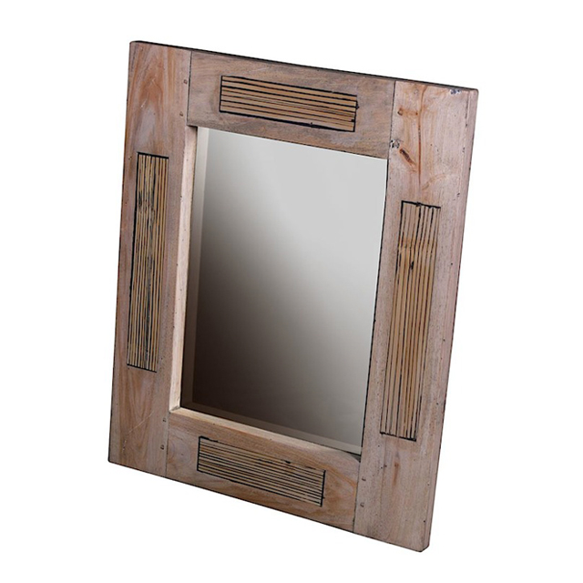 Mirror 80x100 deauville weathered living room furniture for Miroir 80x100