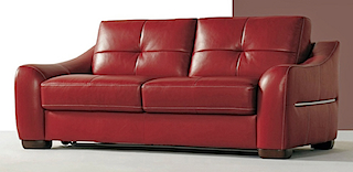 Leather Sofa - Sofa Bed 2 Seater
