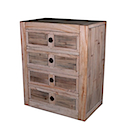 80646NV - LOW COMMODE 4 Drawers