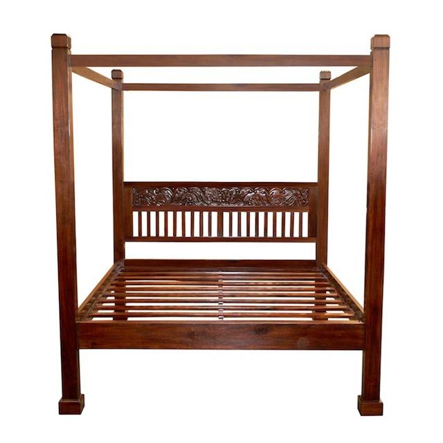 Bali Bed 160x200 Poster Bed Furniture Uae Dubai Rak