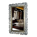 81393MD - LONG MIRROR SILVER GOLD