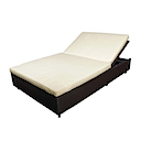 81400SGB - SUN DOUBLE BED WITH CUSHION
