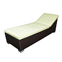 81404SGB - BARCELONA LOUNGER WITH CUSHION