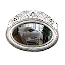 81554 - MIRROR ROSE OVAL