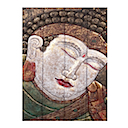 81595 - PANEL BUDDHA FACE
