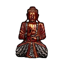 81596 - SITTING BUDDHA RED