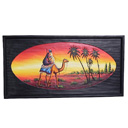 81938 - AFRICAN PAINTING ON WOOD