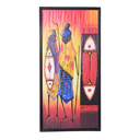 81940 - AFRICAN PAINTING ON WOOD