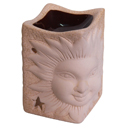 82208 - INCENSE BURNER SUNRISE CREAM