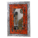 82447E - MIRROR ORANGE SILVER RECT.