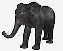 82644 - BIG ELEPHANT RESIN STATUE