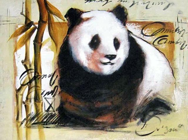 82708 kids mix panda 60x80cm