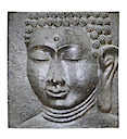 83051 - RELIEF BUDDHA FACE