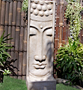 83059MONO - BUDDHA LONG FACE WATER FOUNTAIN