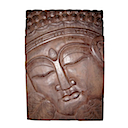 83201 - PANEL BUDDHA BROWN 80x120