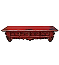 84132MDJ - BENCH MONGOL 4 Drawers (Red)