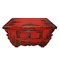 84133MDJR - PRAYING TABLE 1 Drawer (Red)