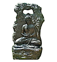 84151 - BUDDHA PRAYING WATER FOUNTAIN