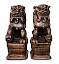84608 - PAIR OF KILLEN STATUE