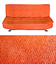 AJ1027O - CLICK CLACK SOFA BED (Orange)