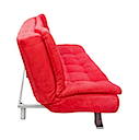 AJ1027R - CLICK CLACK SOFA BED (Red)