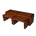 ALM004 - SET OF COFFEE TABLES 140x40