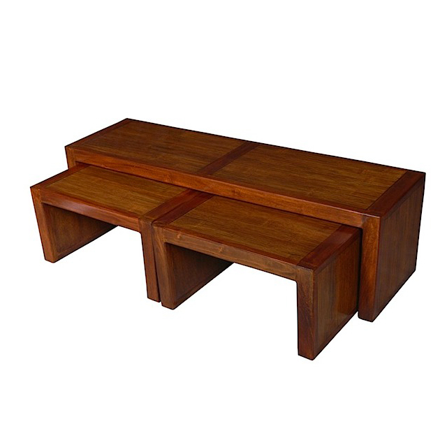 Set of coffee tables 140x40 deauville living room for Coffee tables uae