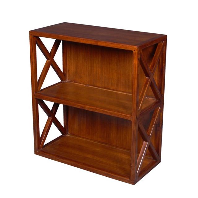 Shelf Cross 2 Cases Teak Home Office Furniture Uae Dubai Rak