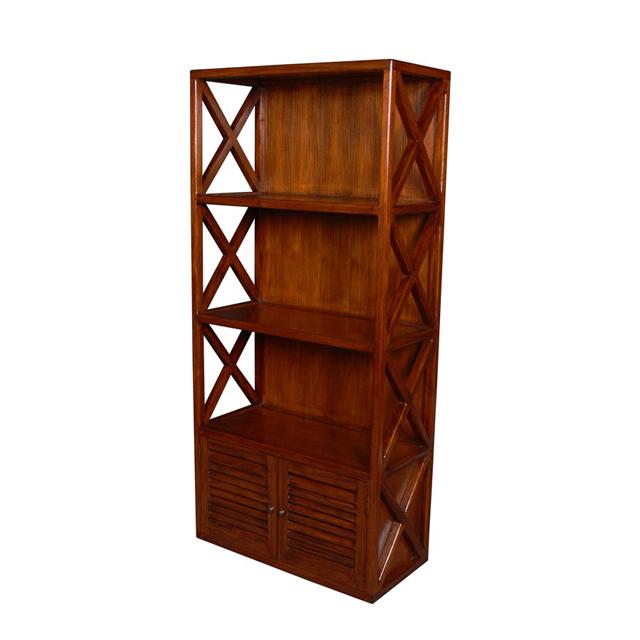 Shelf Cross 3 Cases 2 Doors Teak Home Office Furniture Uae Dubai Rak