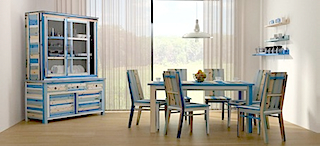 Arlequin dining room furniture set