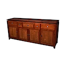 BAL06 - BUFFET 180x45 5 DRAWERS 4 DOORS