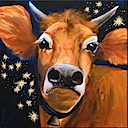 BB29 - COW WITH STAR