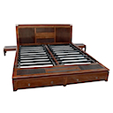 BLC067N - BED 180x200 2 Drawers with 2 Bedsides