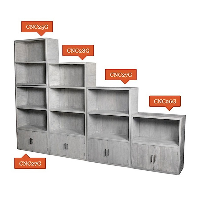 CNC25G/26G/27G/28G Bookcases Set Of 4