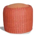 Synthetic Materials Sofa - Chamallow round stool rattan synthetic