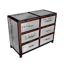 DOA106 - CHEST 6 DVD Drawers