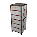 DOA115 - HIGH CHEST 6 Drawers