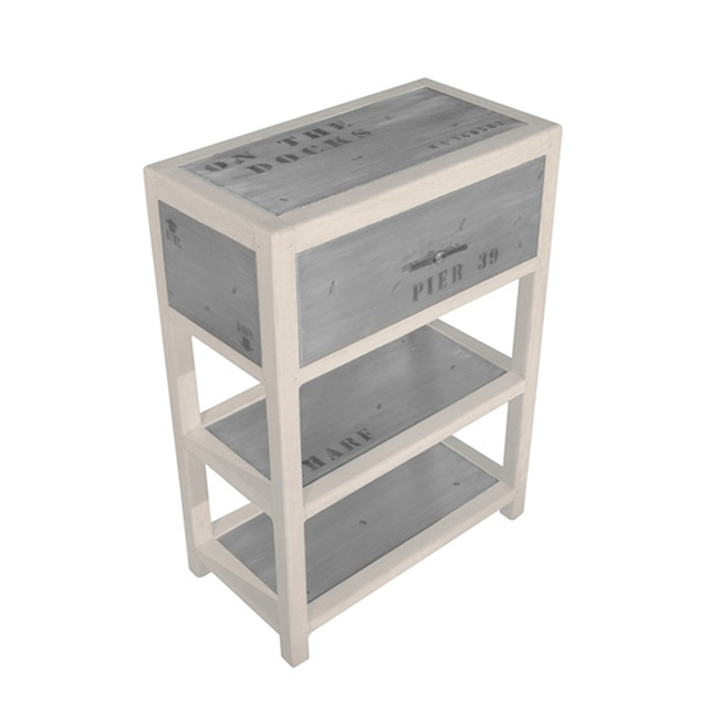 DOA117N Casual Table 1 Drawer 60x32x80cm