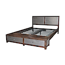 DOA161N - BED 2 Drawers 180x200