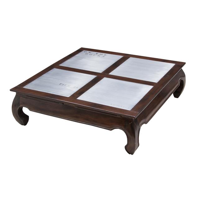 Coffee table opium docker plate dark living room for Coffee tables uae